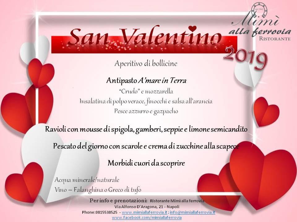 San Valentino 2019 La Cena Per Festeggiare Gli Innamorati