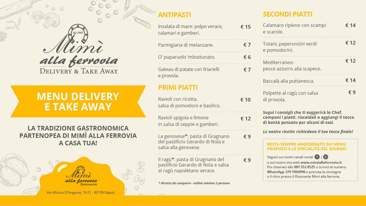 Delivery e Take Away