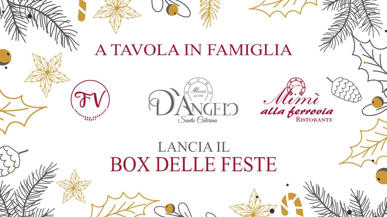 """Special Box: """"A Tavola in Famiglia"""". I sapori della tradizione partenopea per il tuo Natale."""