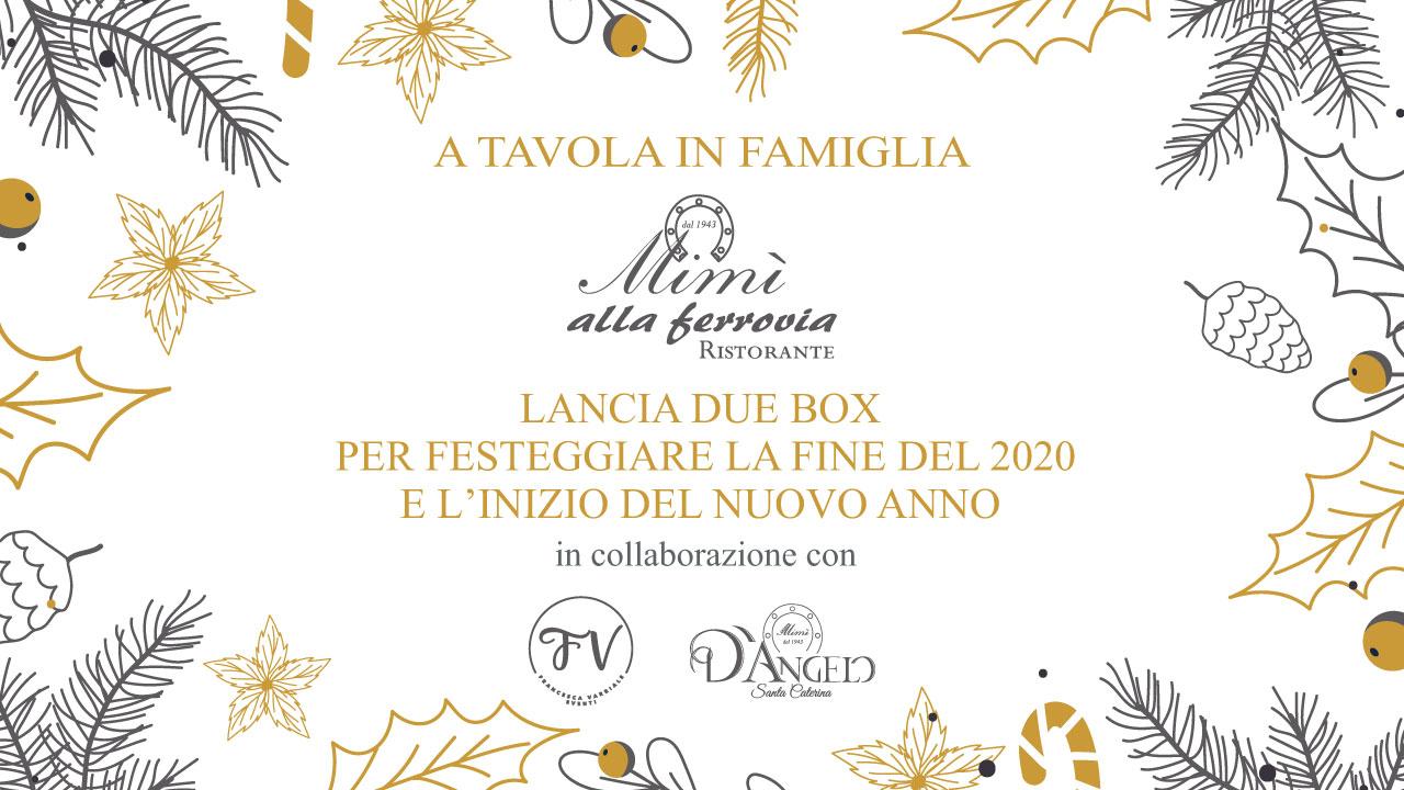 """Special Box: """"A Tavola in Famiglia"""". I sapori della tradizione partenopea per festeggiare il nuovo anno."""